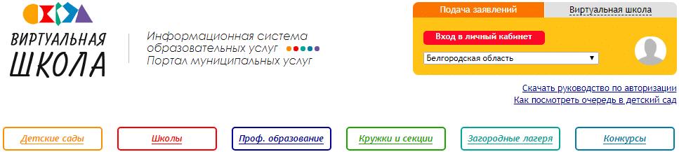 Электронные услуги на сайте